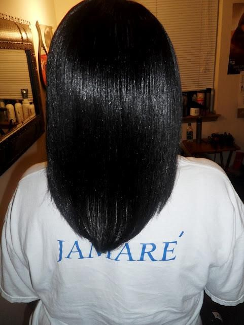 growing healthy relaxed hair hair styles