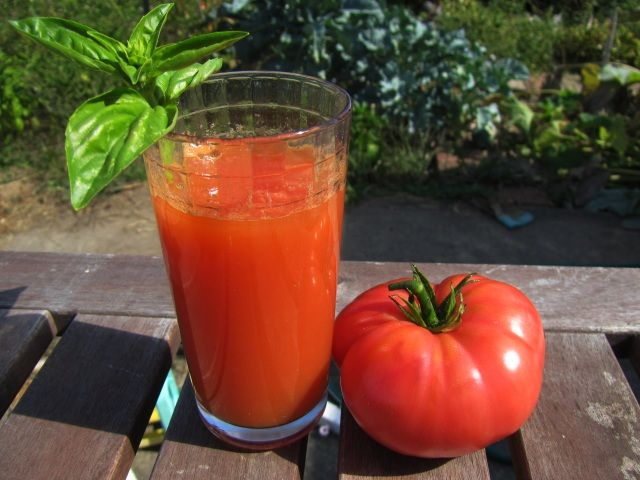 make homemade tomato juice using a juicer photo credit chris making ...
