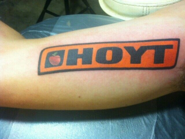 Hoyt bow hunting tattoo huntin pinterest for Archery tattoo pictures