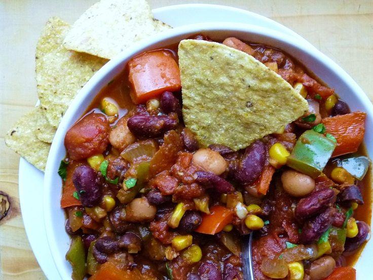 Three Bean Chili | yum | Pinterest