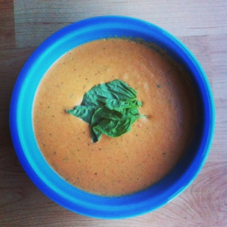 Creamy tomato soup (with cashews) | Playing Chef | Pinterest