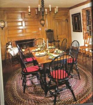 Dining Room on Dining Room    Colonial Salt Box