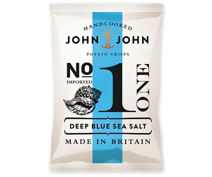 John & John Potato Crisps