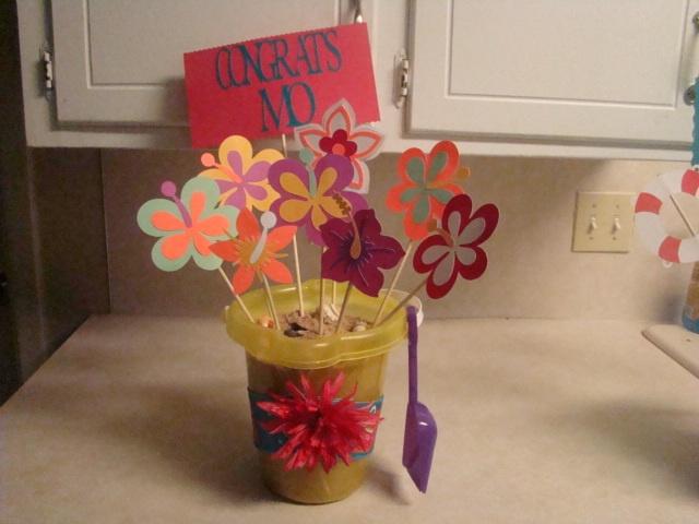 Cute Centerpiece Idea Retirement Party Pinterest