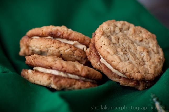 Oatmeal Peanut Butter Sandwich Cookies | Food & Beverage | Pinterest
