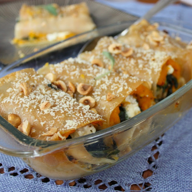 ... Tush and Cook: Butternut Squash, Caramelized Onion, and Kale Lasagna