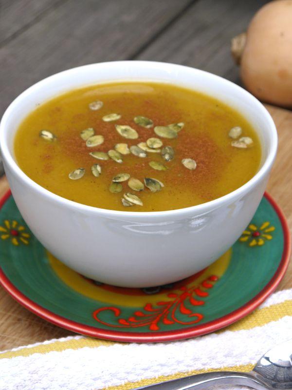 butternut squash amp apple crock pot soup pumps amp iron