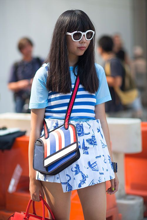 Street Style: New York Fashion Week Spring 2014