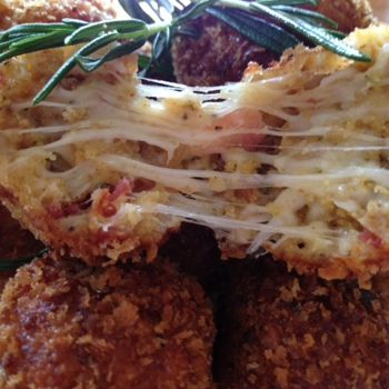 Bacon Cheese Fritters