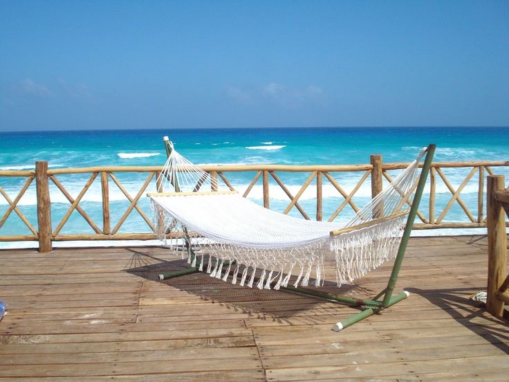 Hamaca casa en la playa casas en la playa pinterest for Hamaca plegable playa