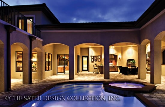 luxury home plan by dan sater marco polo pinterest