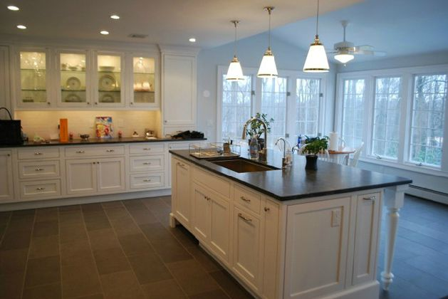 kitchen island with sink Spacer Saver: Put the Sink in the Island