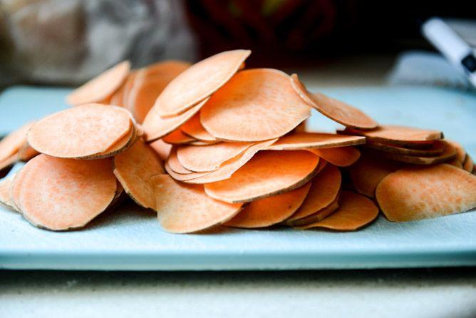 Homemade BBQ Sweet Potato Chips | Recipe