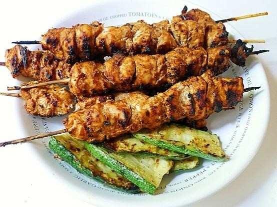 Grilled Tandoori Style Chicken | Yummy in my Tummy | Pinterest