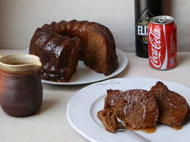 Bizcocho Cuba Libre (Ron y Coca-Cola) / Rum and Coke Cake
