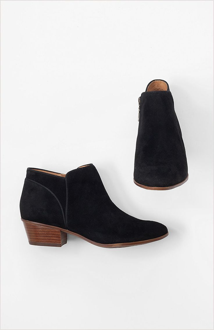 Shoes & Accessories > Clarks western ankle booties at J.Jill