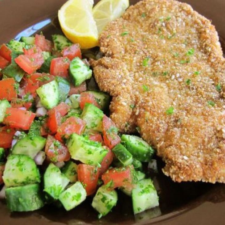 Gluten Free Chicken Schnitzel Recipe   Recipes   Pinterest