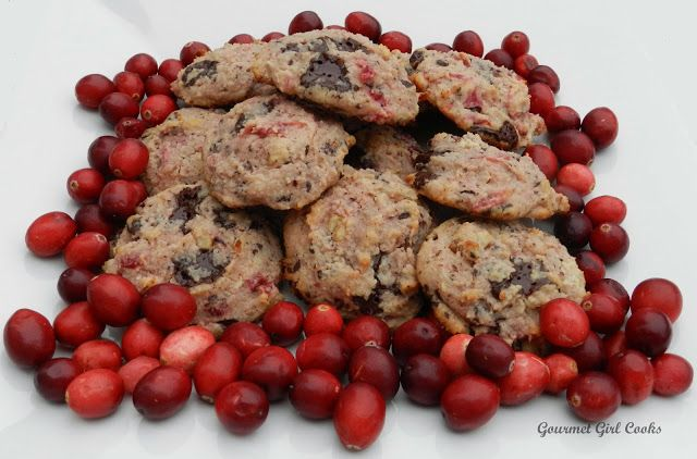 Salted Cranberry Chocolate Chip Cookies - with almond flour and uses ...
