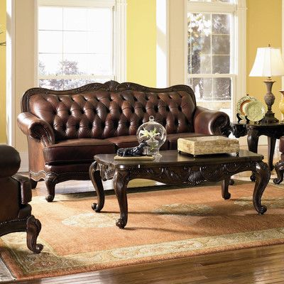 Leather And Bonded Leather Sofas Leather Sofa Traditional