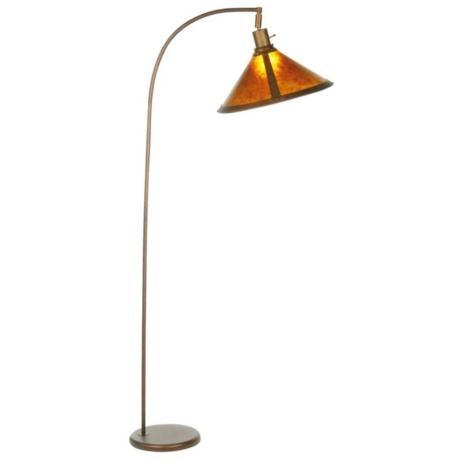 mica shade arc floor lamp 149. Black Bedroom Furniture Sets. Home Design Ideas