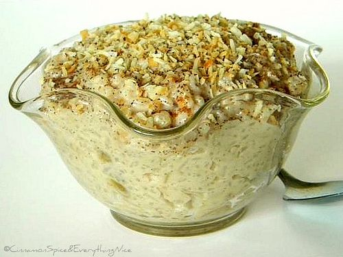 ... rice pudding recipe ever! Coconut Rice Pudding! Very thick & creamy