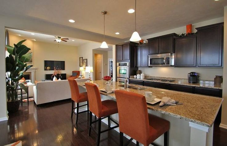 Great looking kitchen from pulte homes dreams for home for Nice looking kitchens