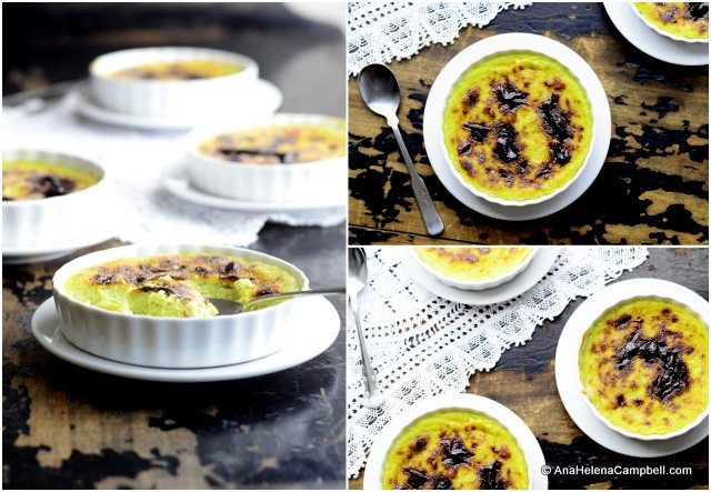 avocado crème brûlée | Made by Me | Pinterest