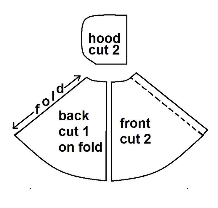 how to make a kids hooded cloak