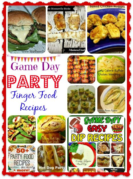 Party Food Recipes  #recipes  #inspireothers http://madamedeals.com/party-finger-food-recipes/