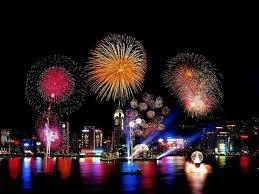 Fireworks at New York City, NY