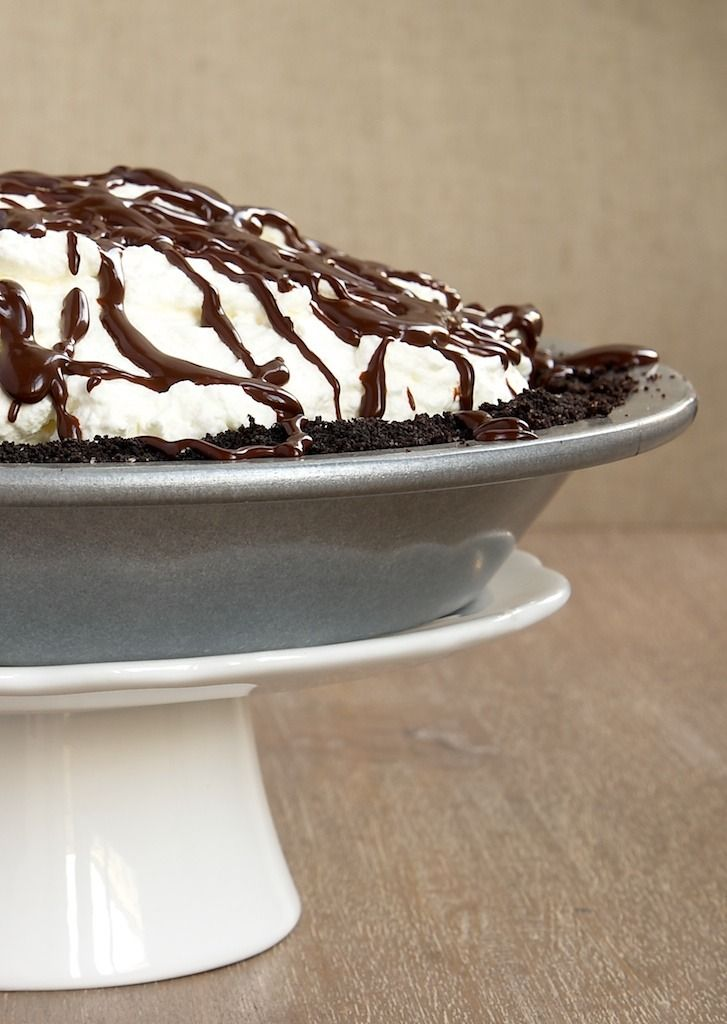 Chocolate Hazelnut Black-Bottom Pie by Bake or Break. The best kind of ...