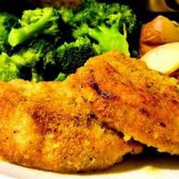 Weight Watchers Oven Fried Pork Chops | Weight Watchers | Pinterest