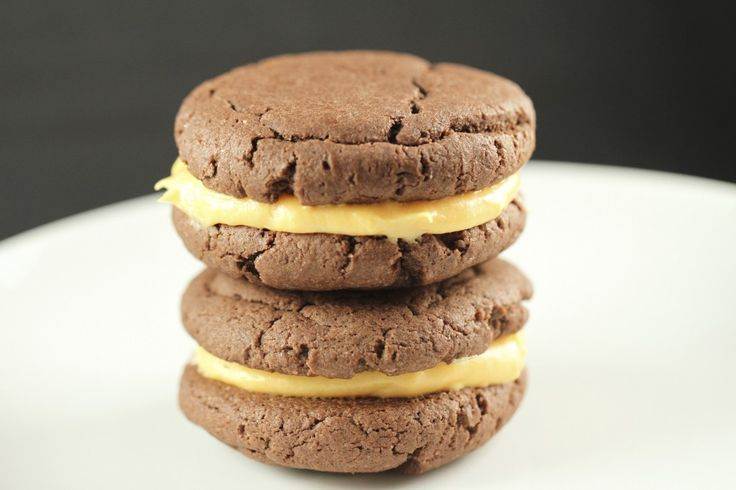 Soft and Chewy Chocolate Sandwich Cookies