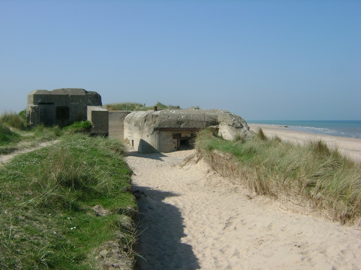 d-day beaches normandy map