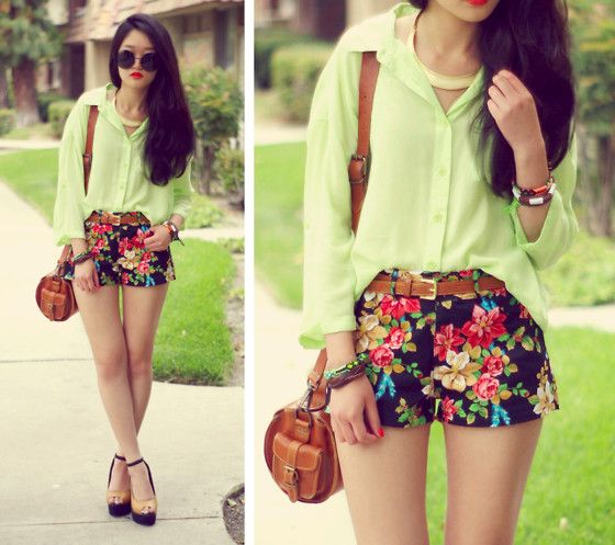 girly and tropical!