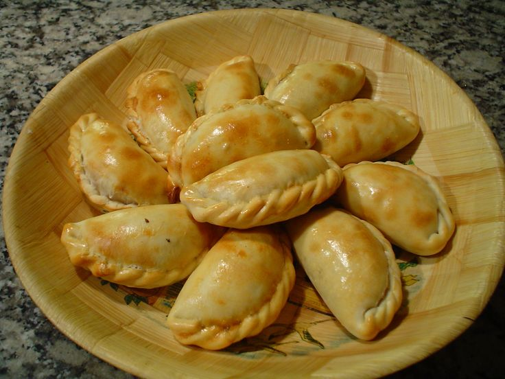 Beef Empanada Filling | Dough for Empanadas Mendocinas – makes about ...