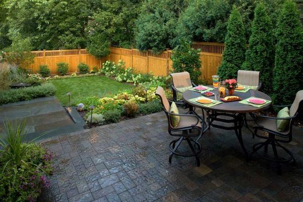 Urban Backyard Garden Design : Minneapolis Back Yard Landscape Design  Southview Design
