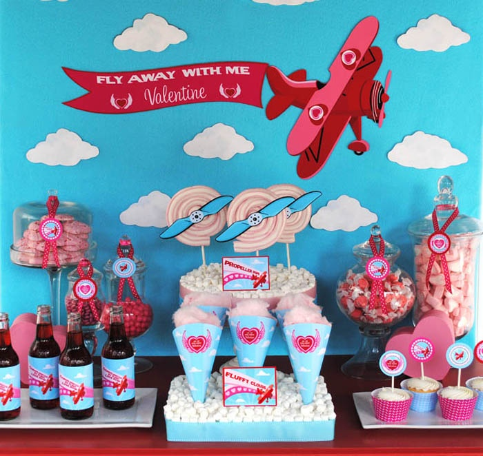 ... dessert table, this theme could totally work for a birthday party too