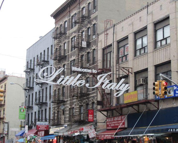 Manhattan, NY - Little Italy | April 2014 New York & New Jersey ...