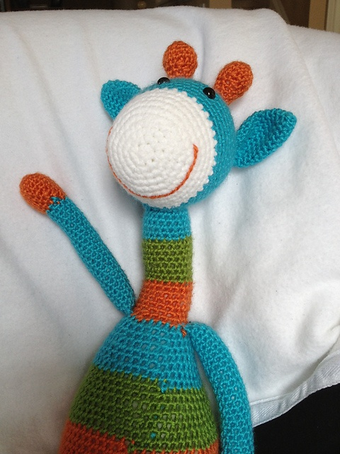 Amigurumi Crochet Ravelry : Joshua the Giraffe - Large Amigurumi Stuffed Animal ...