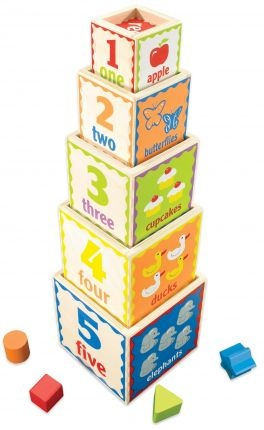 Pyramid of Play - The Wooden Toy Box Store