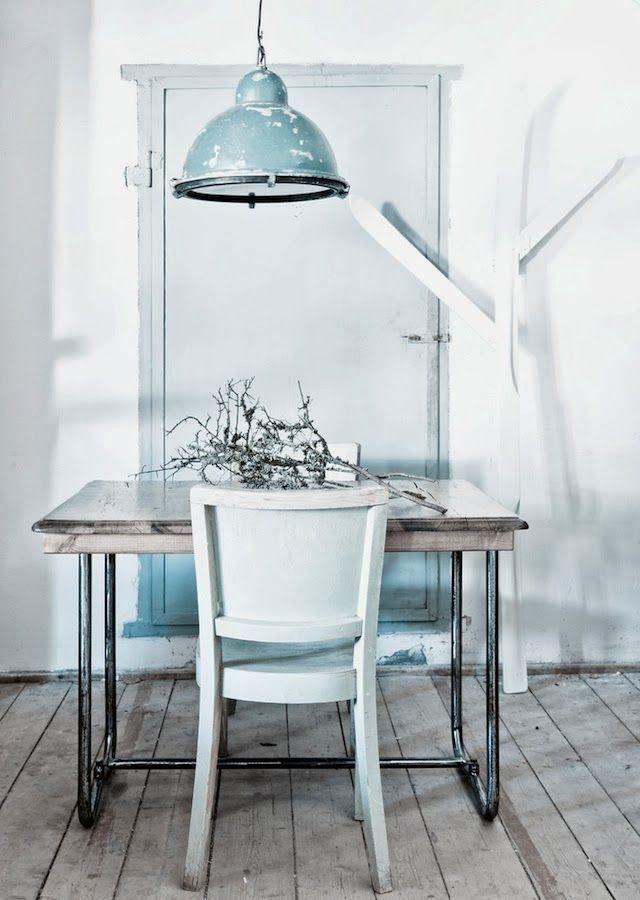 Pastel industrieel interieur  Mitzis on main  Pinterest
