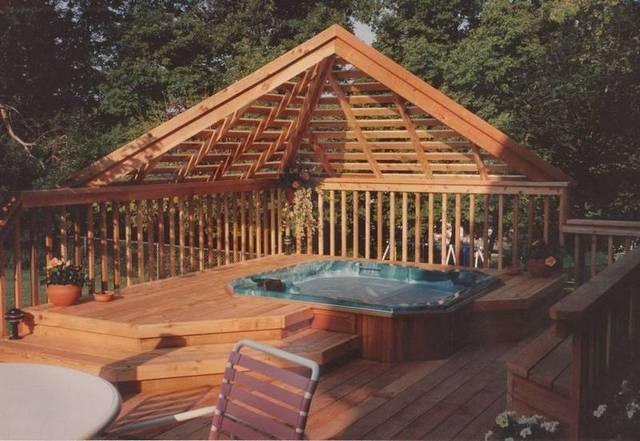 Bigger overhang deck ideas pinterest for Balcony overhang