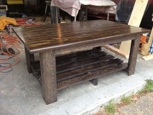 Coffee Table Made Out Of Pallets Diy Pinterest