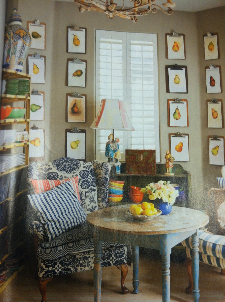 Pears On The Wall Flea Market Ideas Decorating