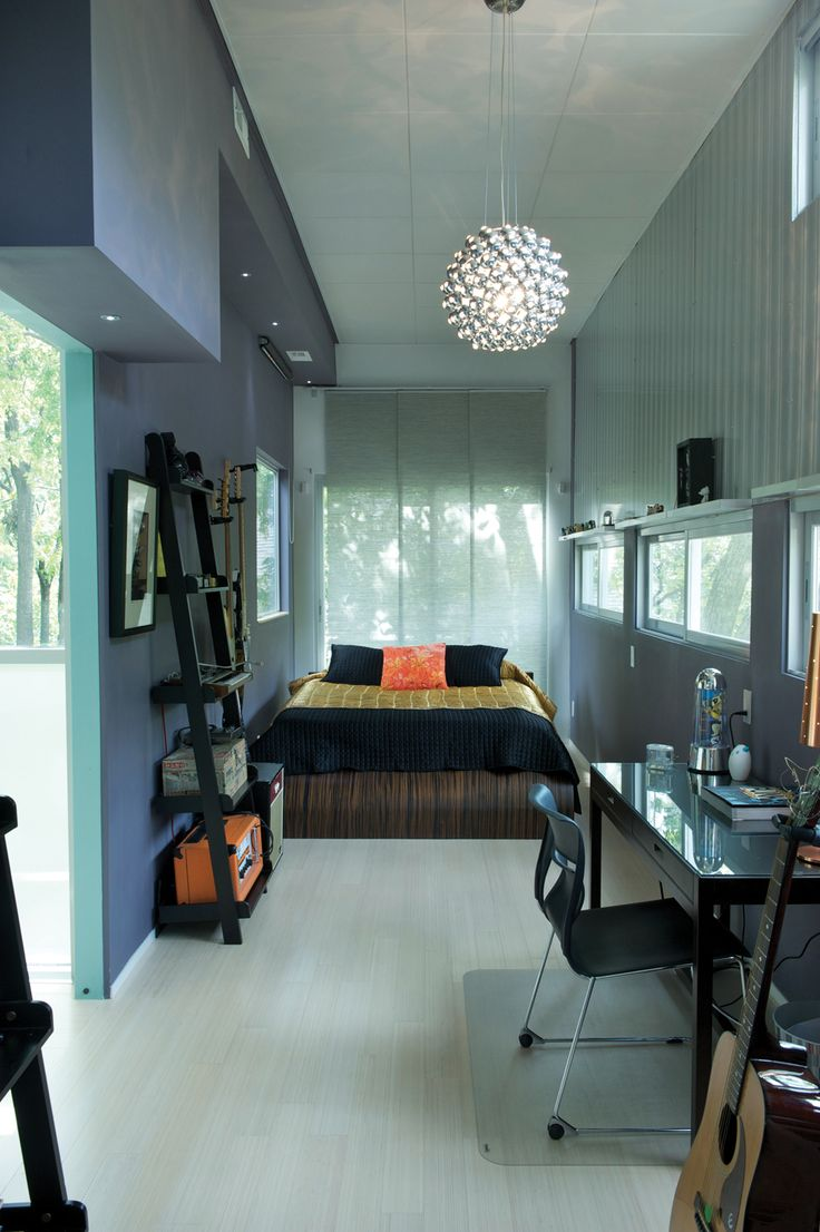 Love this container home interiors pinterest for Shipping container homes interior design