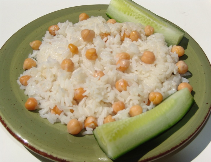 White rice with chickpeas syrian cuisine pinterest for Assyrian cuisine