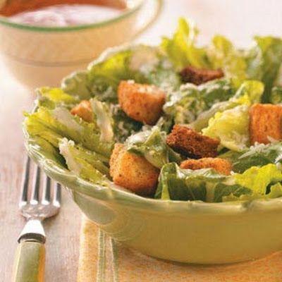 Easy Caesar Salad | Recipes | Pinterest