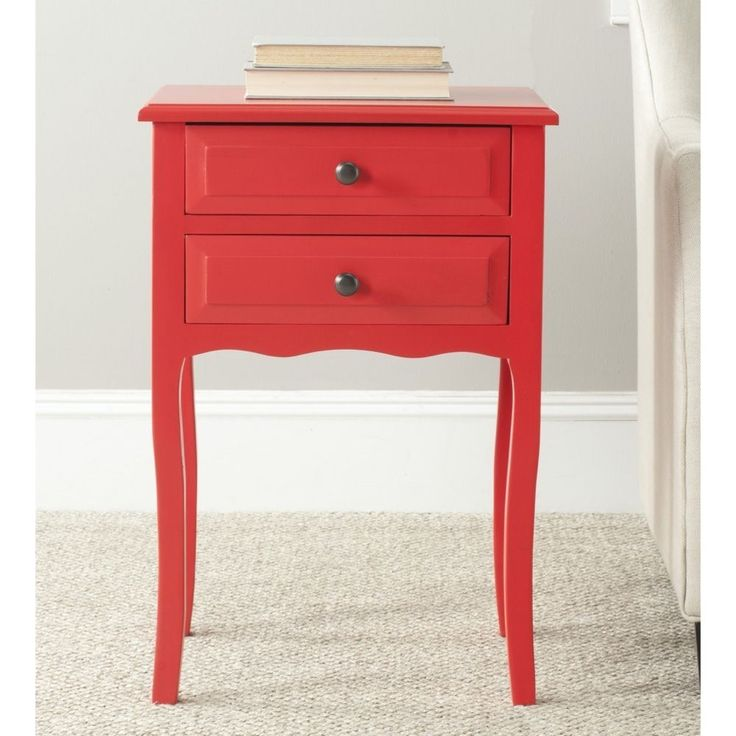 Red Accent Table  Overstock.com Shopping - The Best Deals on Coffee ...