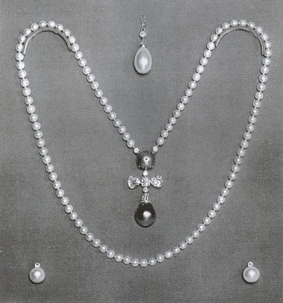 The Youssoupoff pearls